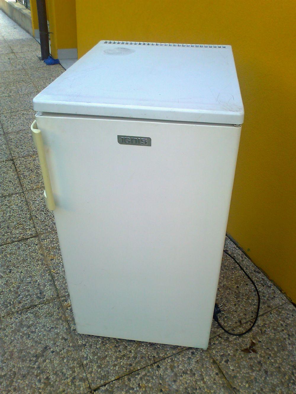 Descrizione: frigorifero IGNIS cm 45x46x80, colore bianco, piccolo ...