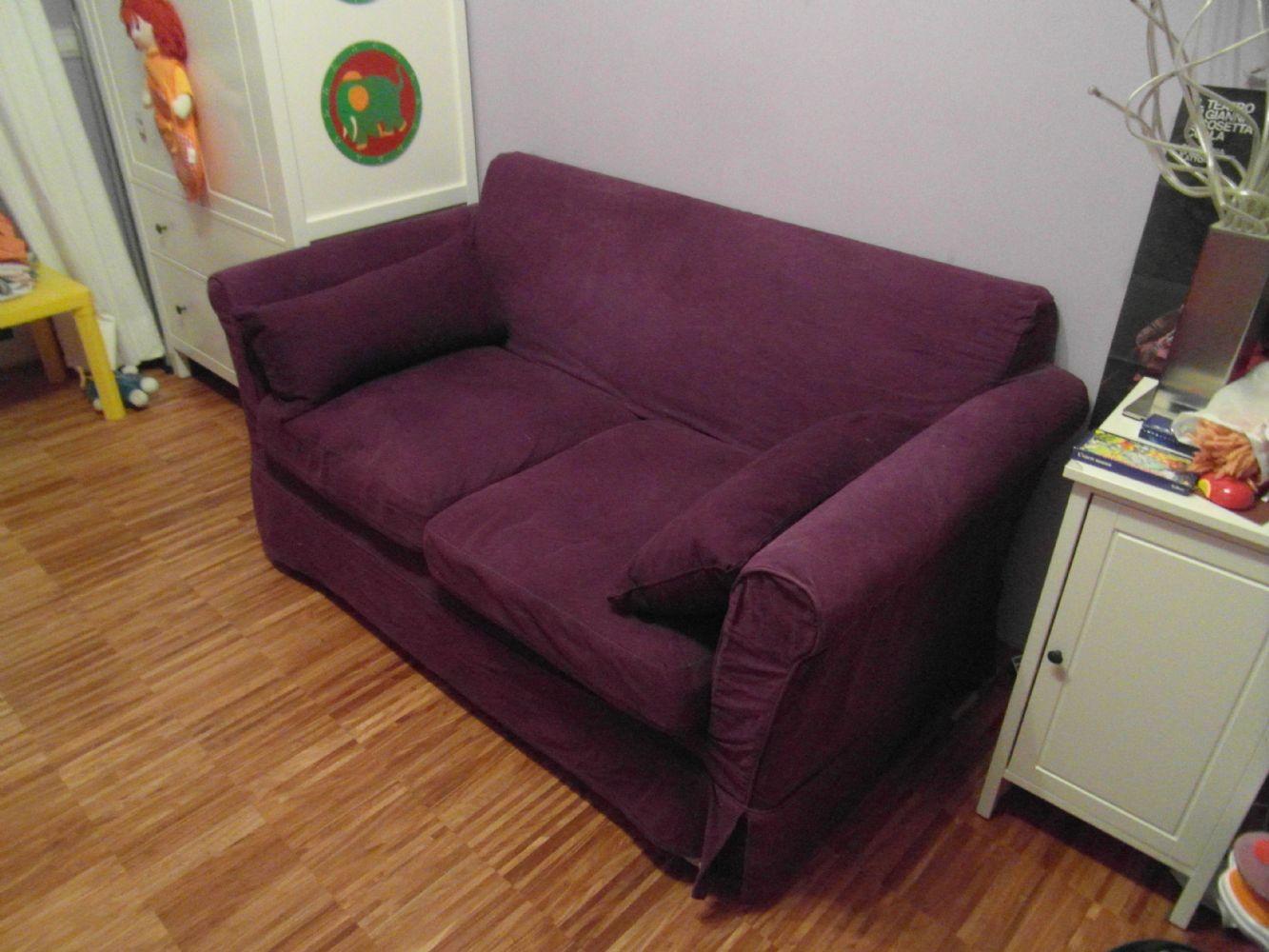 Baratto scambio divano letto ikea arredamento complementi d arredo a bodio lomnago va for Ikea letto 1 piazza e mezza