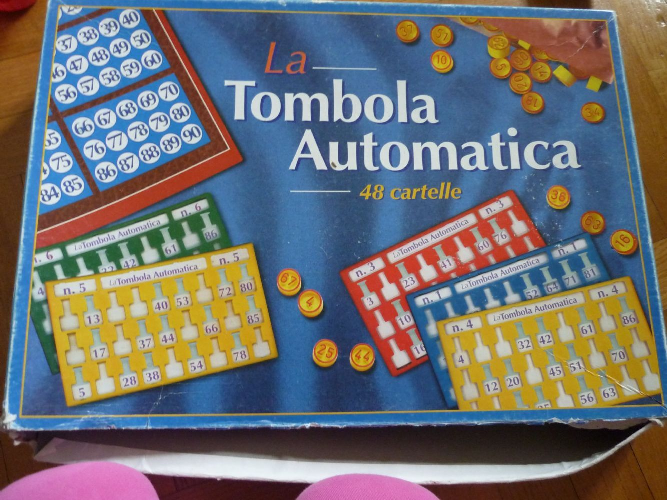 Baratto scambio la tombola bimbi giocattoli e giochi di for Cartelle tombola per anziani
