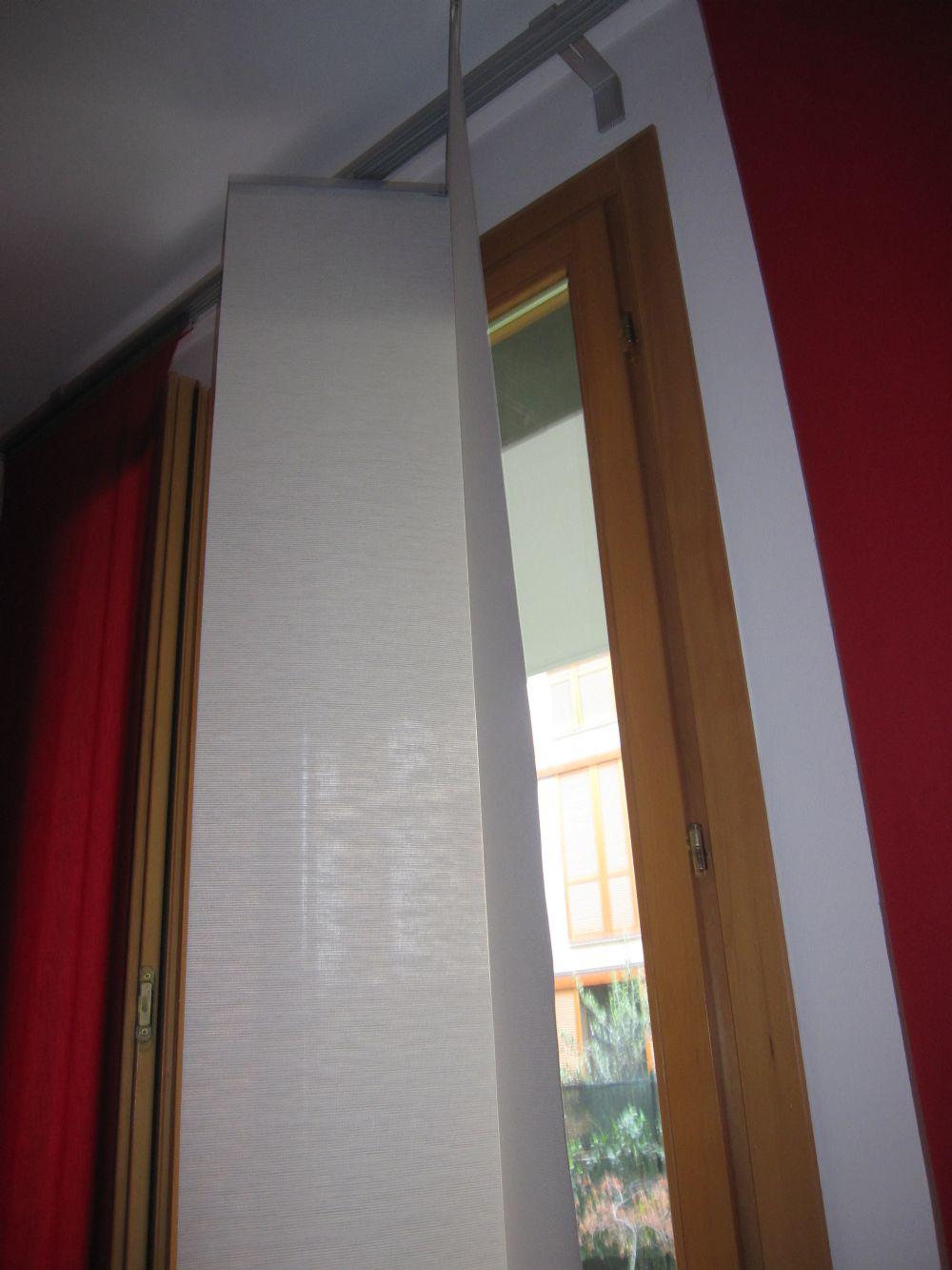 Baratto scambio tende a pannello ikea arredamento for Ikea binario tende