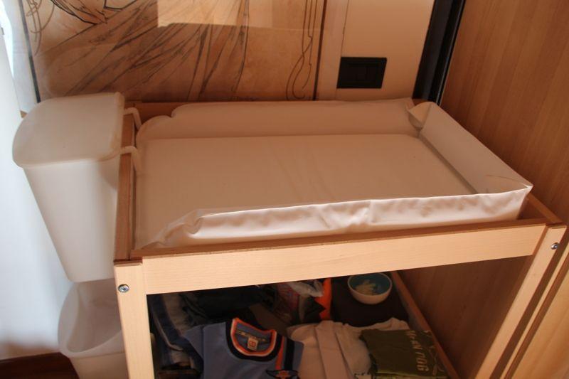 Fasciatoio ikea usato modificare una pelliccia - Fasciatoio con bagnetto ikea ...