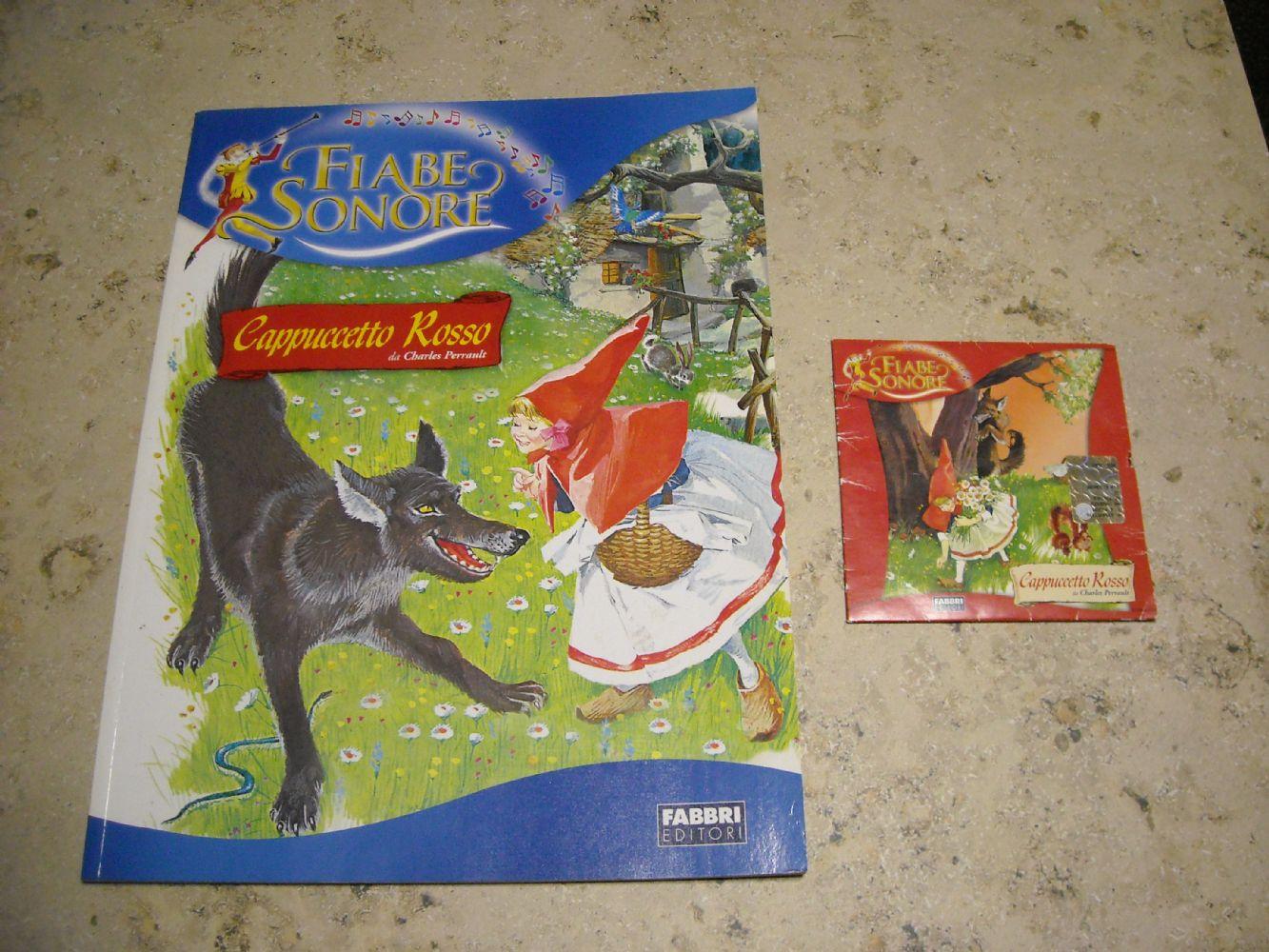 Conosciuto Baratto/Scambio: Fiabe sonore libro + CD [ Bimbi/Giocattoli e  LH62