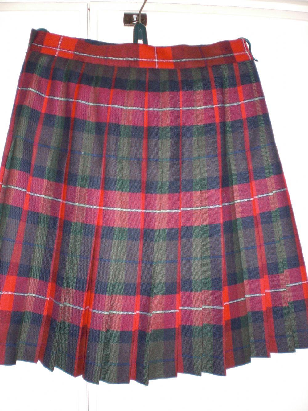 foto ufficiali cd860 6ab25 Gonnellina scozzese Seventy