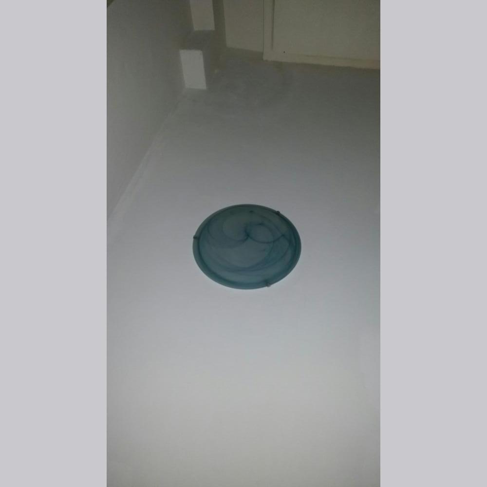 Baratto/scambio: plafoniera azzurra [ arredamento/complementi d ...