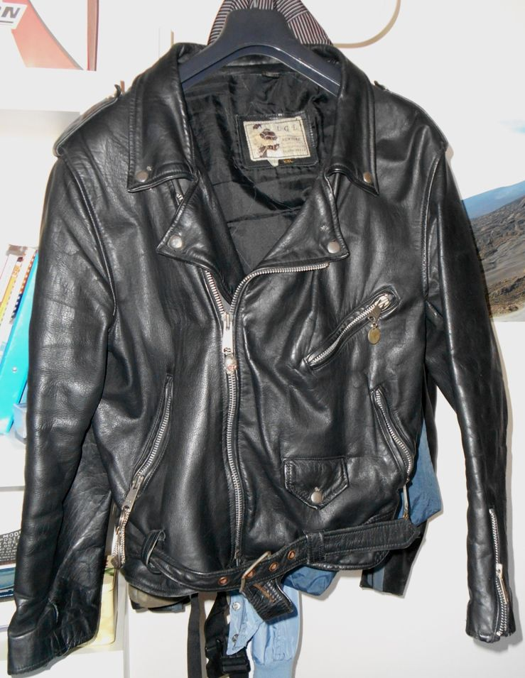 Baratto Scambio  Chiodo in pelle vintage   Abbigliamento ... 8ab1171a30ff