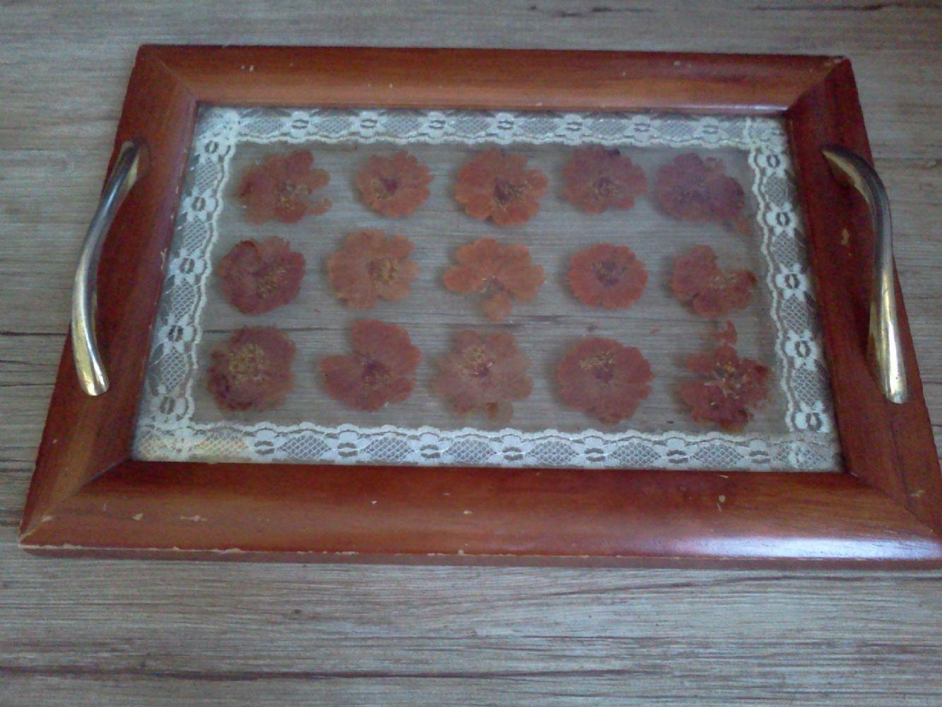 Vassoi In Legno Con Vetro : Baratto scambio: vassoio vetro e legno [ arredamento complementi d