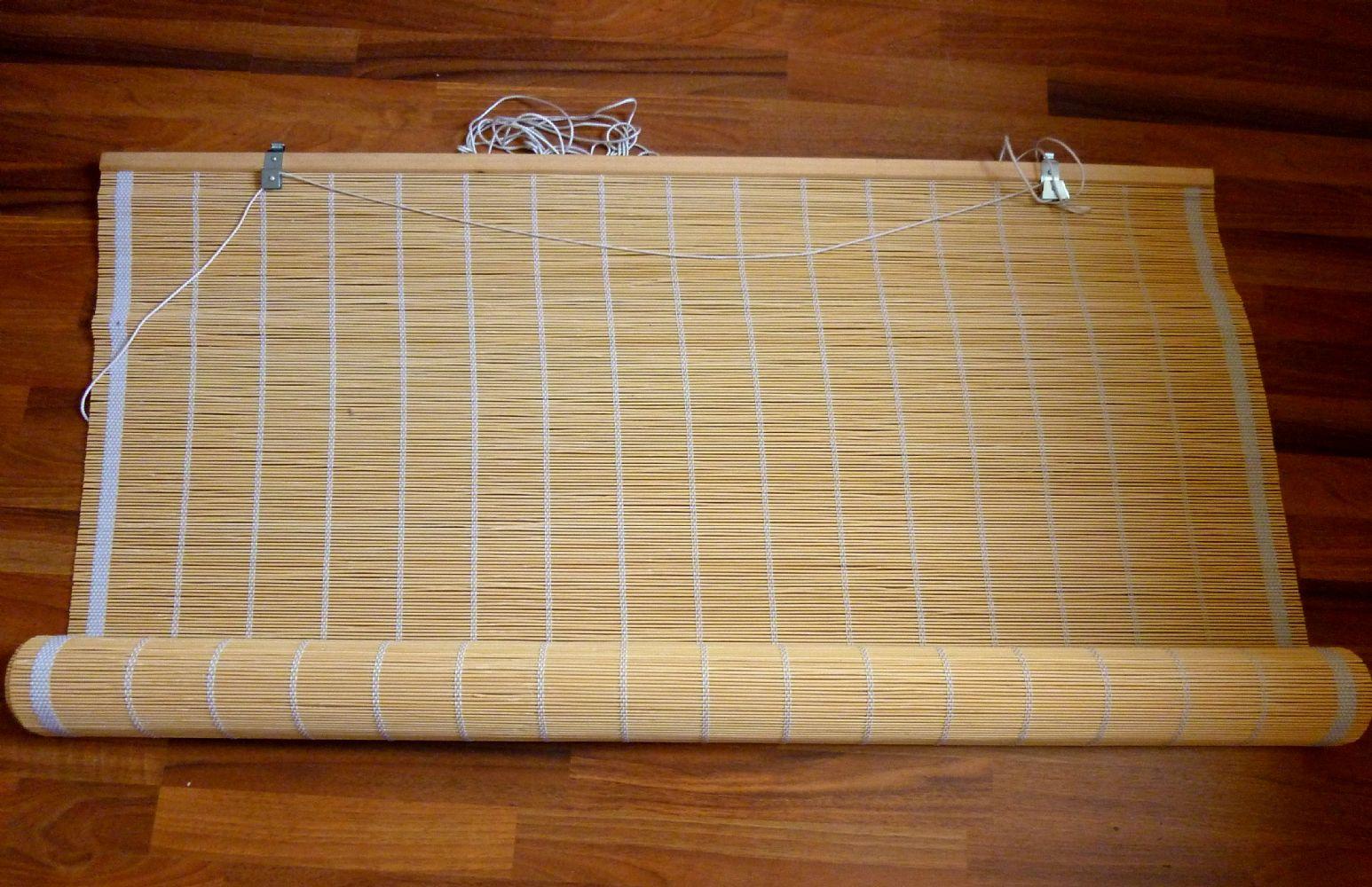 Tenda bamboo avvolgibile pannelli termoisolanti for Leroy merlin carrucola