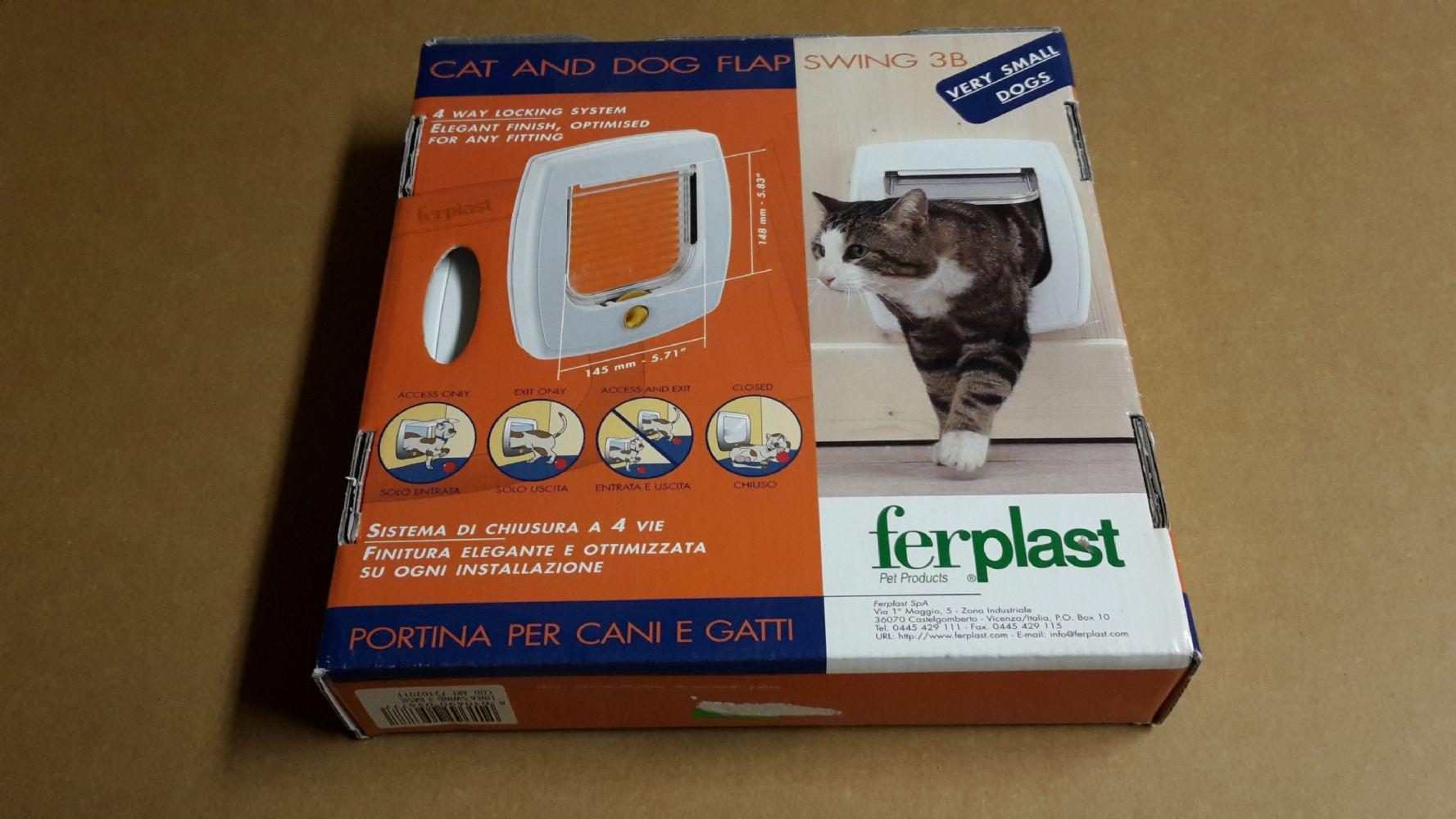 Baratto scambio gattaiola porticina per gatti un po for Gattaiola per cani