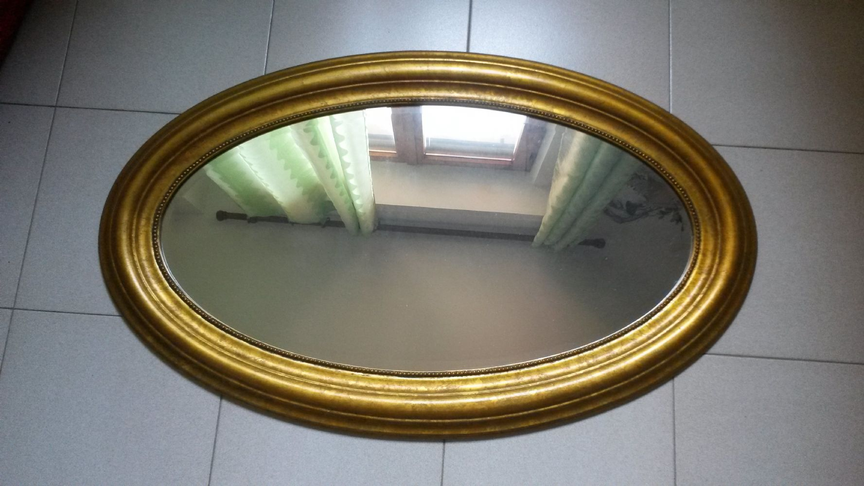 Baratto scambio specchio dorato arredamento complementi - Specchio ovale ikea ...