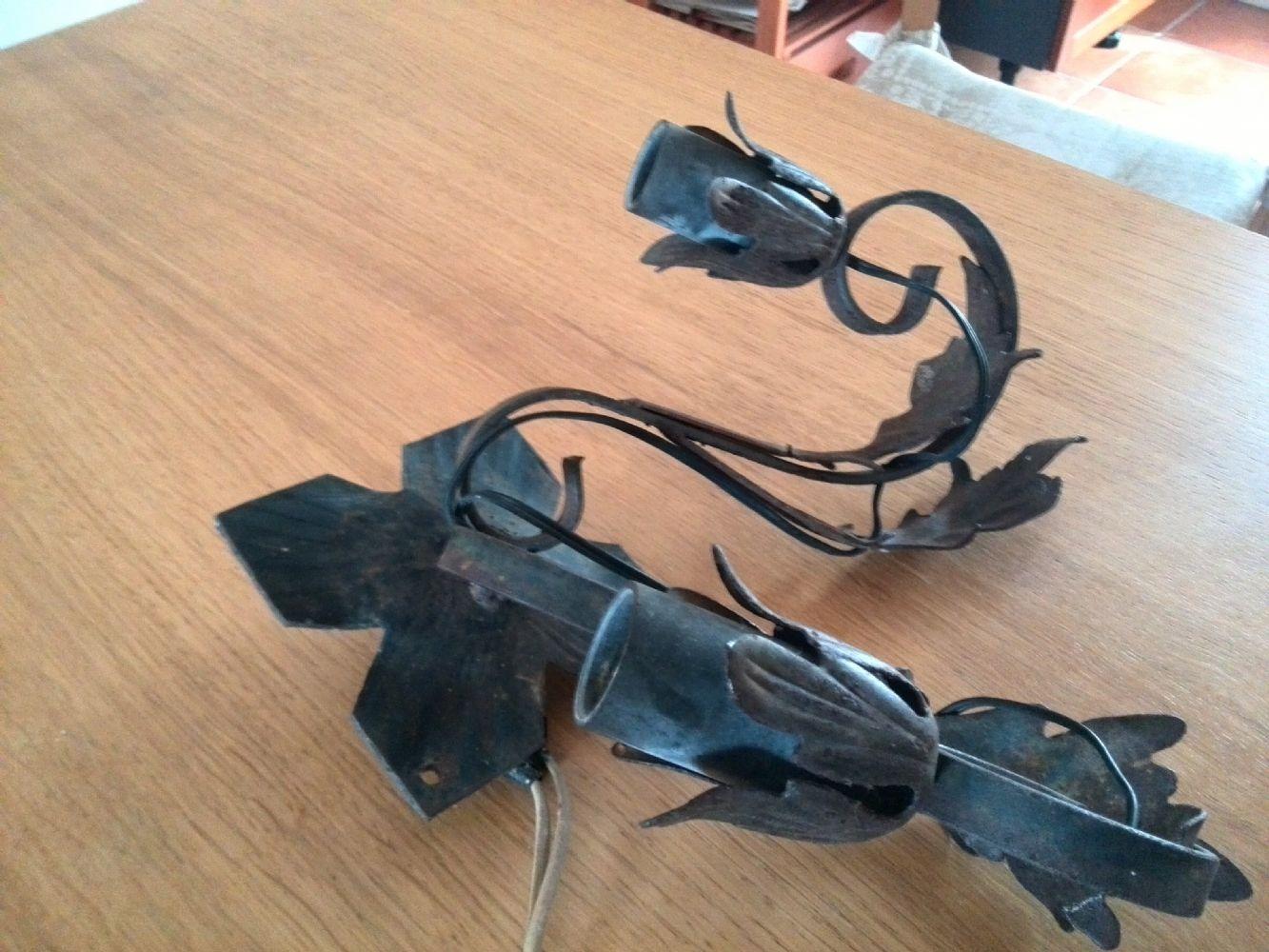 Baratto/Scambio: Lampada antica da esterno in f [ Arredamento ...