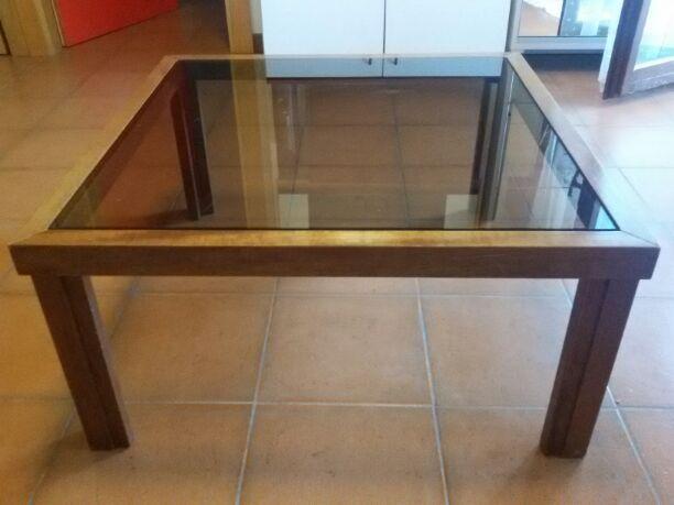 Tavolini Da Salotto In Legno Usati : Baratto scambio bel tavolino da salotto arredamento soggiorno