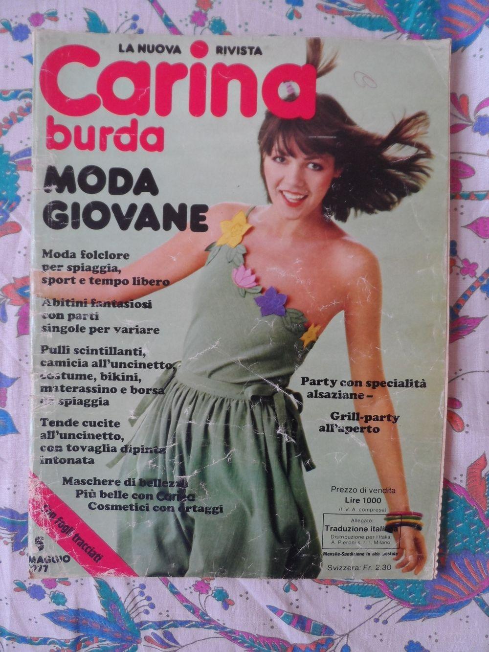 6841fbd5a0b7 Baratto Scambio  Rivista Cucito Burda Vintage   Libri