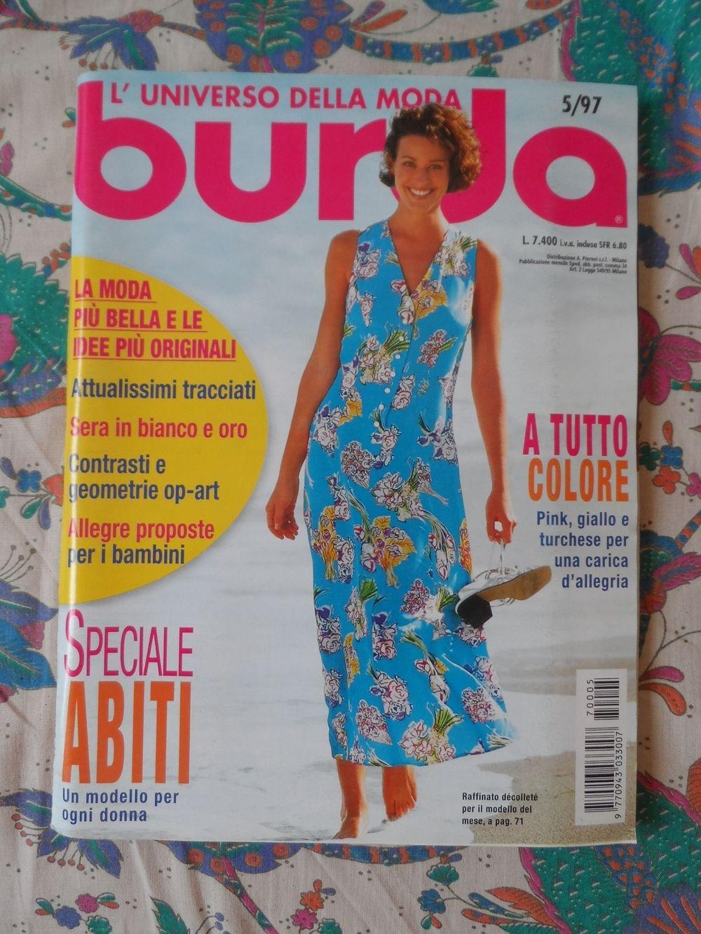 caf57b466f8f Baratto Scambio  Rivista Cucito Burda 14   Libri
