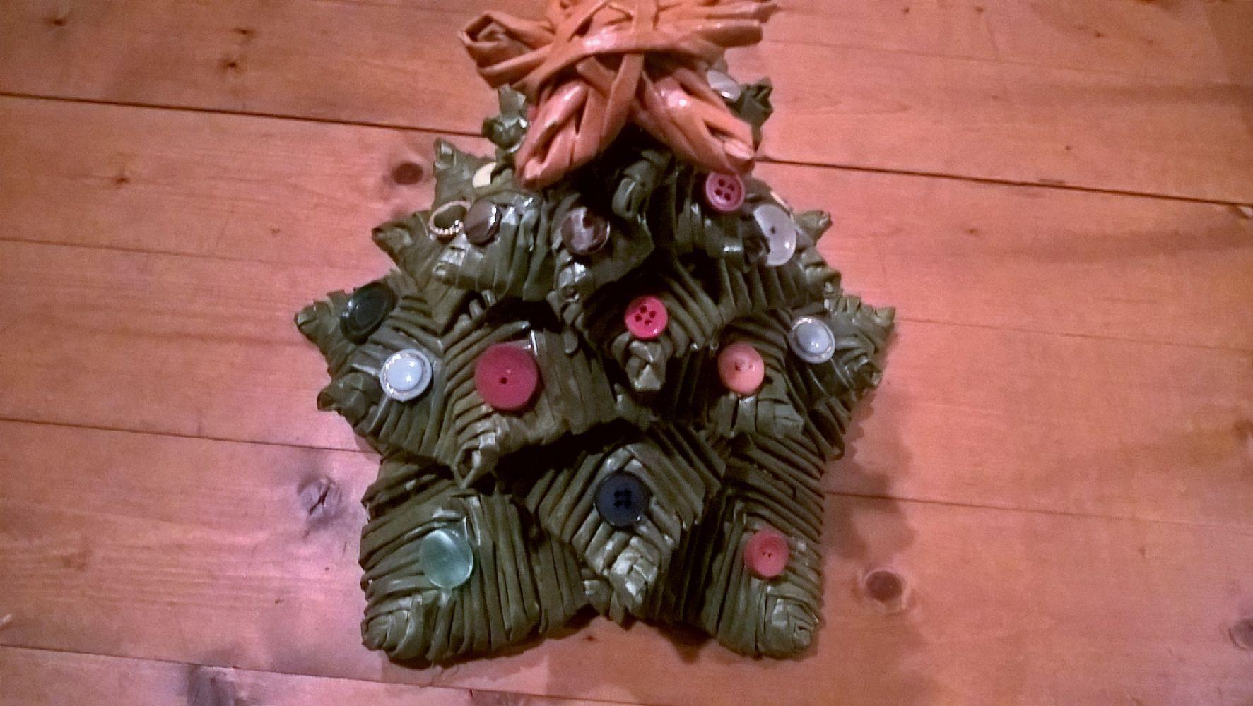 Albero Di Natale Con Cannucce Di Carta.Baratto Scambio Albero Di Natale Autoproduzione Lavoretti A