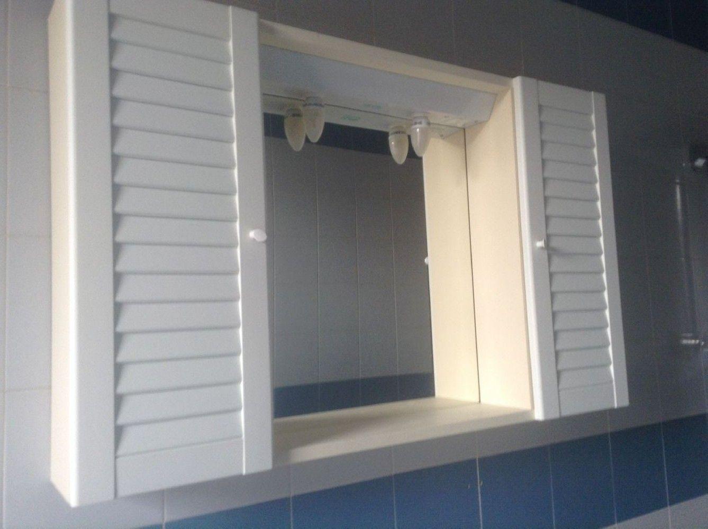 Baratto/Scambio: Armadietto/specchio x bagno [ Arredamento/Bagno] a ...
