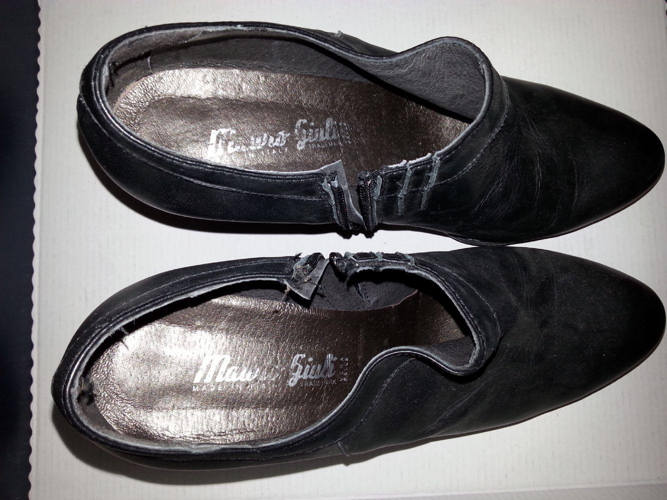 new product db077 c6db5 scarpe pelle n. 40