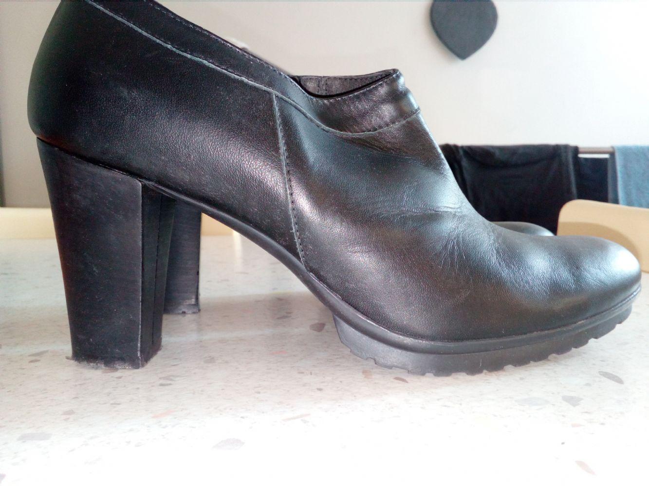 new product dfbfb 00db1 scarpe pelle n. 40