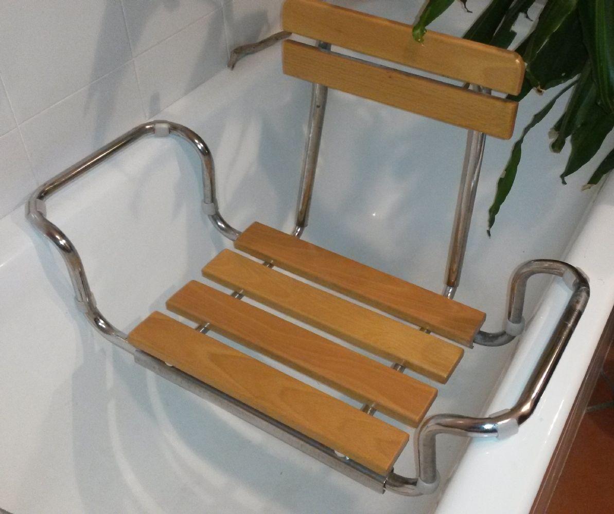Sedile X Vasca Bagno In Legno