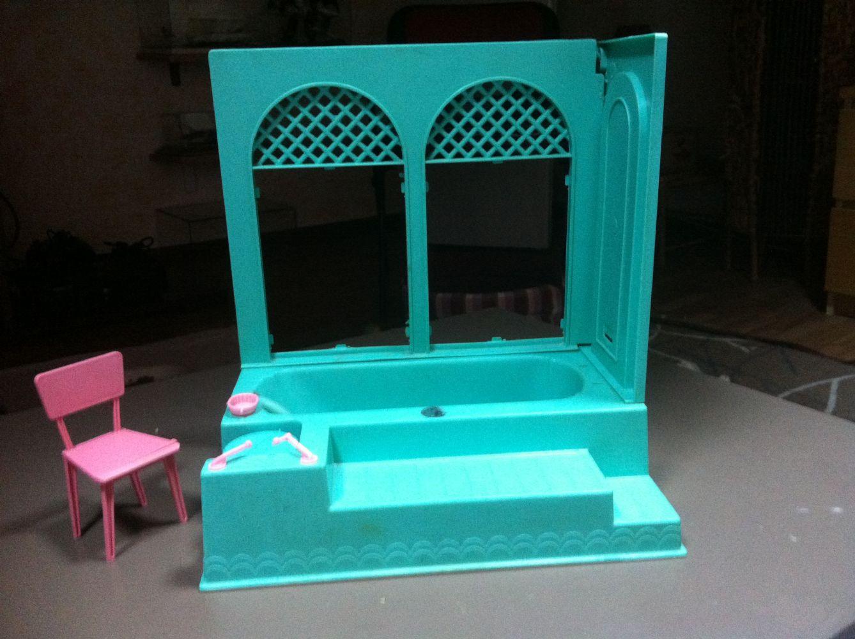 Vasca Da Bagno Barbie : Baratto scambio: bagno di barbie [ collezionismo e antiquariato