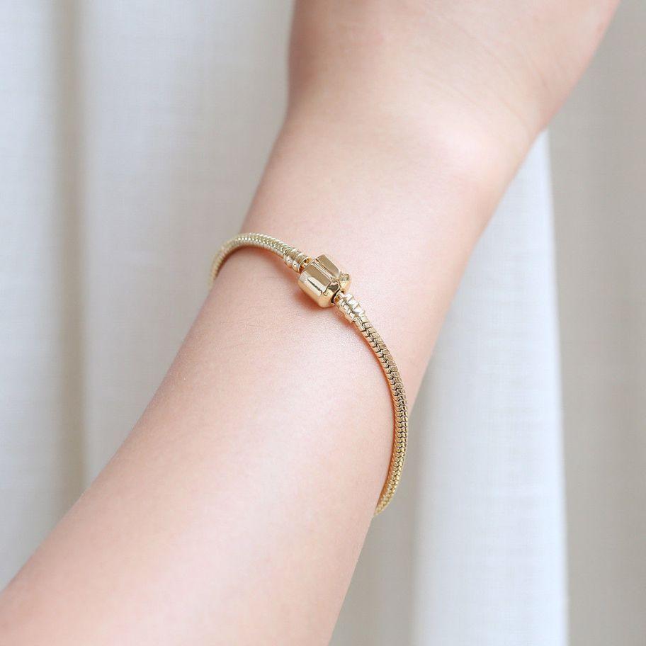 bracciali pandora oro giallo