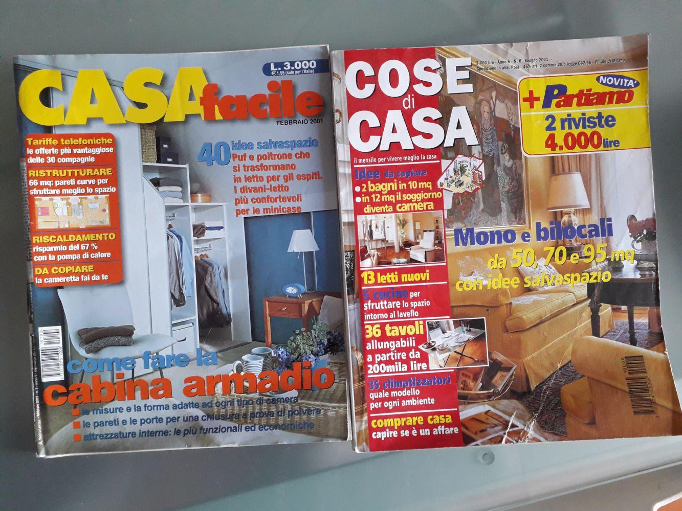 Baratto scambio riviste arredamento libri riviste e fumetti