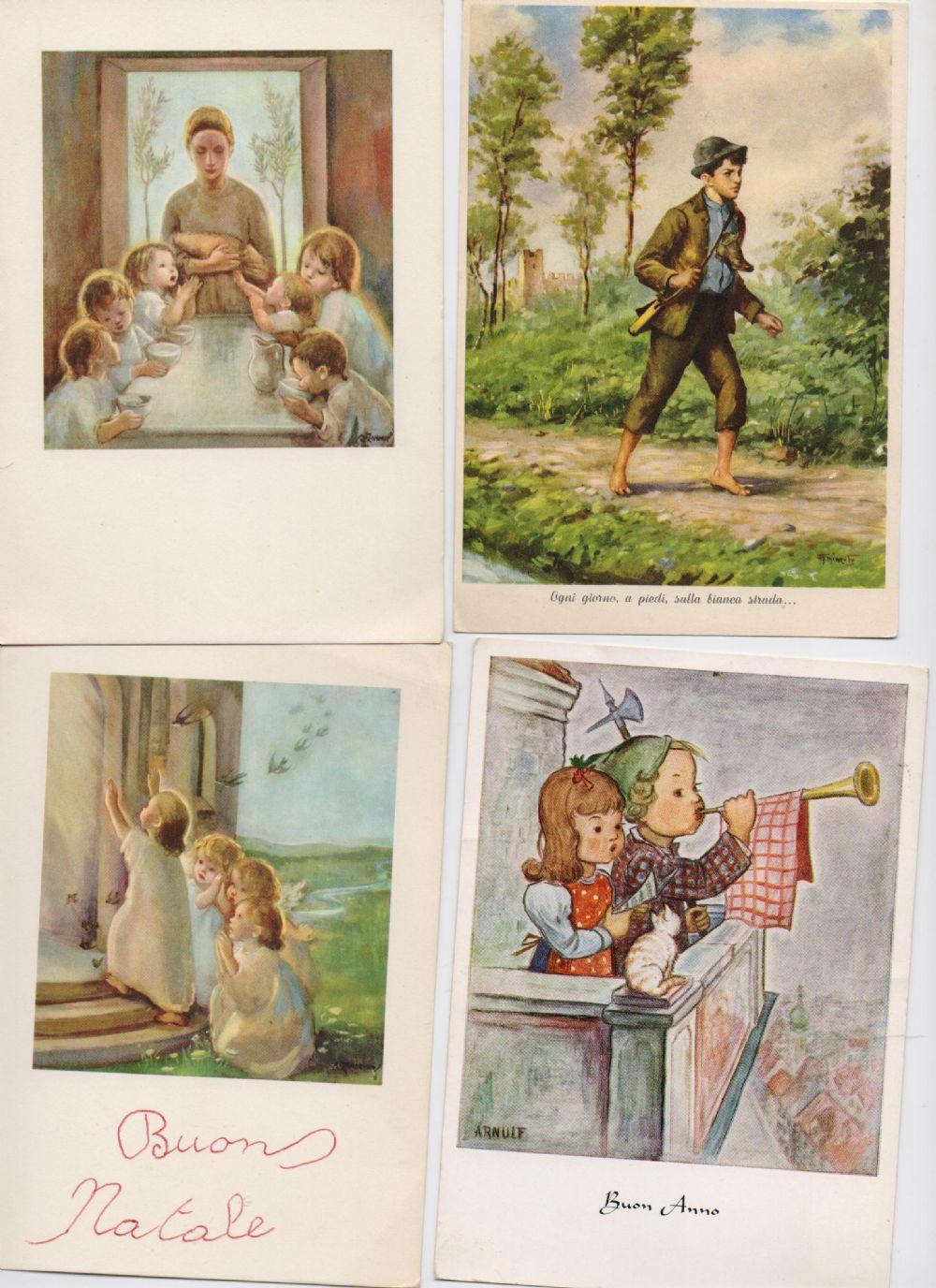 Immagini Cartoline Natale Vintage.Cartoline Natale Vintage